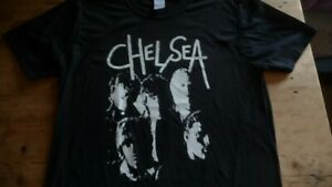 CHELSEA 1st LP T-Shirt Size Medium.New.Punk,Rock,The Adverts,Roxy Club,Cortinas