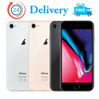 Apple iPhone 8 64GB 256GB Unlocked smartphone All Colours No Touch ID Version