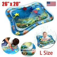 "26""x20"" Large Inflatable Baby Water Mat Novelty Play for Kids Children Infants"