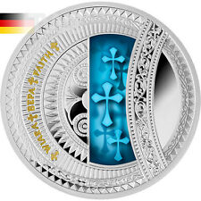 Niue 2015 1 $Faith-The World of your soul Proof Coin Silver