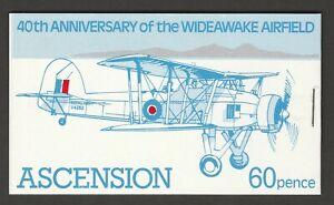 Ascension 1982 60p Complete booklet SG SB4a.