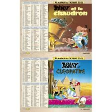 Calendrier Asterix La Poste 2021 Almanach