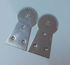 2 x NEW TEETH COCONUT GRATER STAINLESS STEEL KITCHEN FROM THAILAND FREE SHIPPING