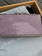 Judith Leiber Small Crystal Clutch Minaudiere