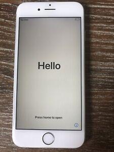 Apple iPhone 6s - 128GB - Silver (Unlocked) A1633 (CDMA + GSM)