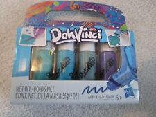 Play Doh DohVinci 4 Pack Drawing Colors by Hasbro