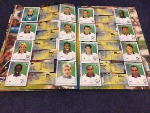 Merlin's Premier League 97 sticker Team Pages Tottenham Hotspur