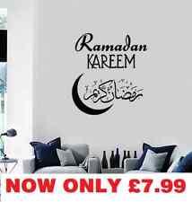 Islamic Calligraphy-Removable-Wall-Stickers VINYL WALL DECAL Ramadan Kareem Eid