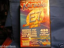Chartbuster Karaoke Essentials - E-7 SET CD+G 30  DISC 450 SONGS / $69 SALE