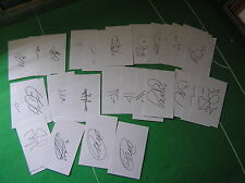 More details for huddersfield town fc set of 34 signed 2013/2014 season index cards scannell etc