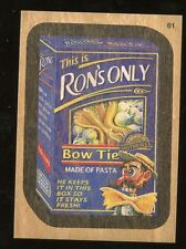 2015 Topps Wacky Packages Series 1 WOOD Parallel #61 - This is Ron's Only