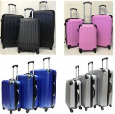 Unbranded Hard Plastic Suitcases