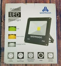 Warmoon LED Flood Lights 30W Outdoor LED Security Wall Washer Night Light