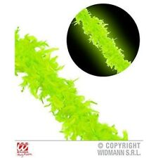 180cm Neon Green Feather Boa - 20s 30s Chorus Flapper Fancy Dress Party