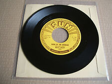 "billy riley down by the river side / no name girl usa sun 313 original 7"" vinyl"