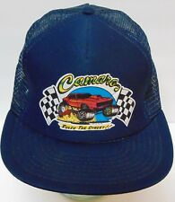 Vtg 1976 CAMARO Rules the Street Hot Rod Advertising SNAPBACK HAT TRUCKER CAP