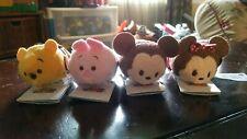 Valentines Day Tsum Tsum Mickey, Minnie, Pooh, & Piglet NWT