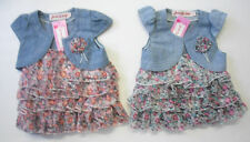 Butterfly Party Floral Dresses (0-24 Months) for Girls