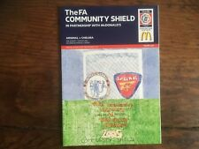 Charity Shield Aug 2005 Arsenal v  Chelsea at Cardiff Mint