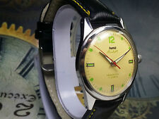VINTAGE HMT PILOT 17 JEWELS HAND-WINDING MOVEMENT ANALOG DIAL WRIST WATCH AC209