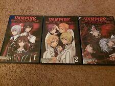 Vampire Knight DVD-Vol 1-3