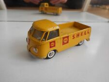 "Tekno Denmark VW Volkswagen Transporter T1 Pick-up ""SHELL"" in Yellow"