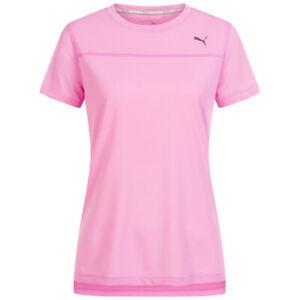 Puma Ignite Women's Sports Fitness Shirt Sports Top T-Shirt Pink 516673-09 New