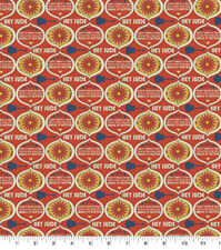 Beatles Hey Jude Cotton Fabric, Lyrics by Lennon & McCartney