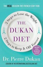 The Dukan Diet: 2 Steps to Lose the Weight - Dr. Pierre Dukan BRAND NEW HC/DJ