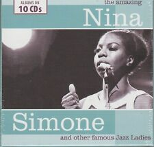 The Amazing Nina Simone and Other Famous Jazz Ladies 10 Cd's Box Set New Sealed