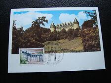 FRANCE - carte 1er jour 11/1/1975 (chateau de rochechouart) (cy43) french