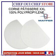 corne de pâtissier XXL polypropylène 19,5x14,5 cm - MATFER - NEUF