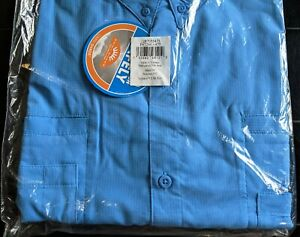 NEW COLUMBIA PFG Tamiami Men's 5X Short Sleeve Fishing Shirt BIG 5XL Harbor Blue