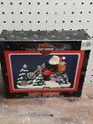 Cast Iron Harley Davidson Motorcycle Santa Claus Stocking Holder Hook - 2002