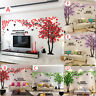 3D Large Flower Tree Wall Sticker Acrylic Decal Mural Bedroom Living Room Decor