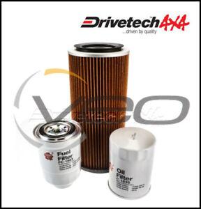 NISSAN PATROL Y60 GQ 2.8L TD RD28T 1/95-11/97 DRIVETECH 4X4 SERVICE FILTER KIT