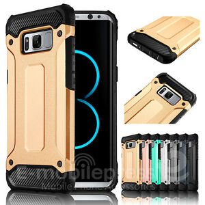 For Samsung Galaxy S8/S8+ Plus S7 edge Rugged Armor Shockproof Bumper Case Cover