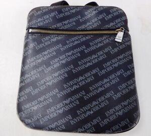 Emporio Armani Crossbody Faux leather Messenger Bag 21 x 24 x 3