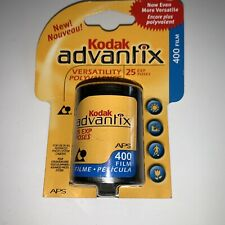 Kodak Advantix Aps 400 25 Exp Color Print Film New Old Stock Exp 4/04