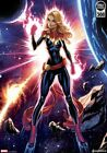 Captain Marvel Art Print - J. Scott Campbell by Sideshow! Sold Out! #183 of 300