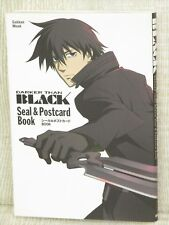 DARKER THAN BLACK Sticker & Postcard Book Art Illustration GK03*