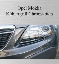 Opel Mokka - 3M Chrom-Leiste Zierleiste Chromleiste Kühlergrill Seiten NEU
