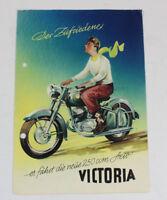 Victoria Aero KR 26 N Sport Motorrad Oldtimer Original Prospekt 5.1 1848 DL8