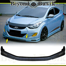 Fits 2011-2013 Hyundai Elantra Sequence Style Front Bumper Splitter Body Kit