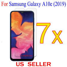 7x Clear Screen Protector Guard Cover Film For Samsung Galaxy A10e (2019)