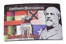 American Civil War Confederate Robert E Lee Imported  Fridge Magnet Note Holder