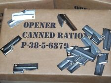 P38 P-38 Can Opener 25 ea Pack Shelby Army Military Usmc Mess Ration Kit Vietnam