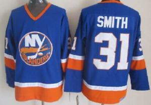 Islanders Blue Billy Smith Jersey M, L, XL, XXL, 3XL