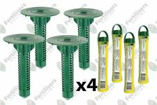 Sentricon Set x4 Inground Bait Station & Bait RodTermite Elimination System Dow