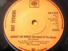 "RAY STEVENS - BRIDGET THE MIDGET ( THE QUEEN OF THE BLUES )  7"" VINYL"